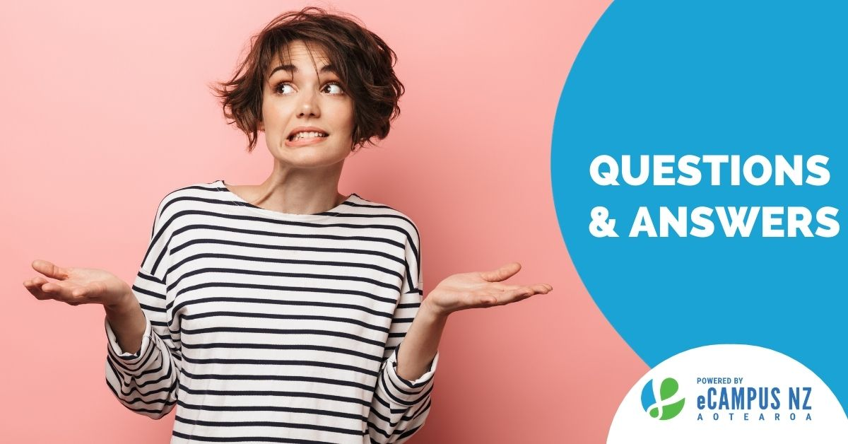 Ask eCampus NZ | Questions and Answers